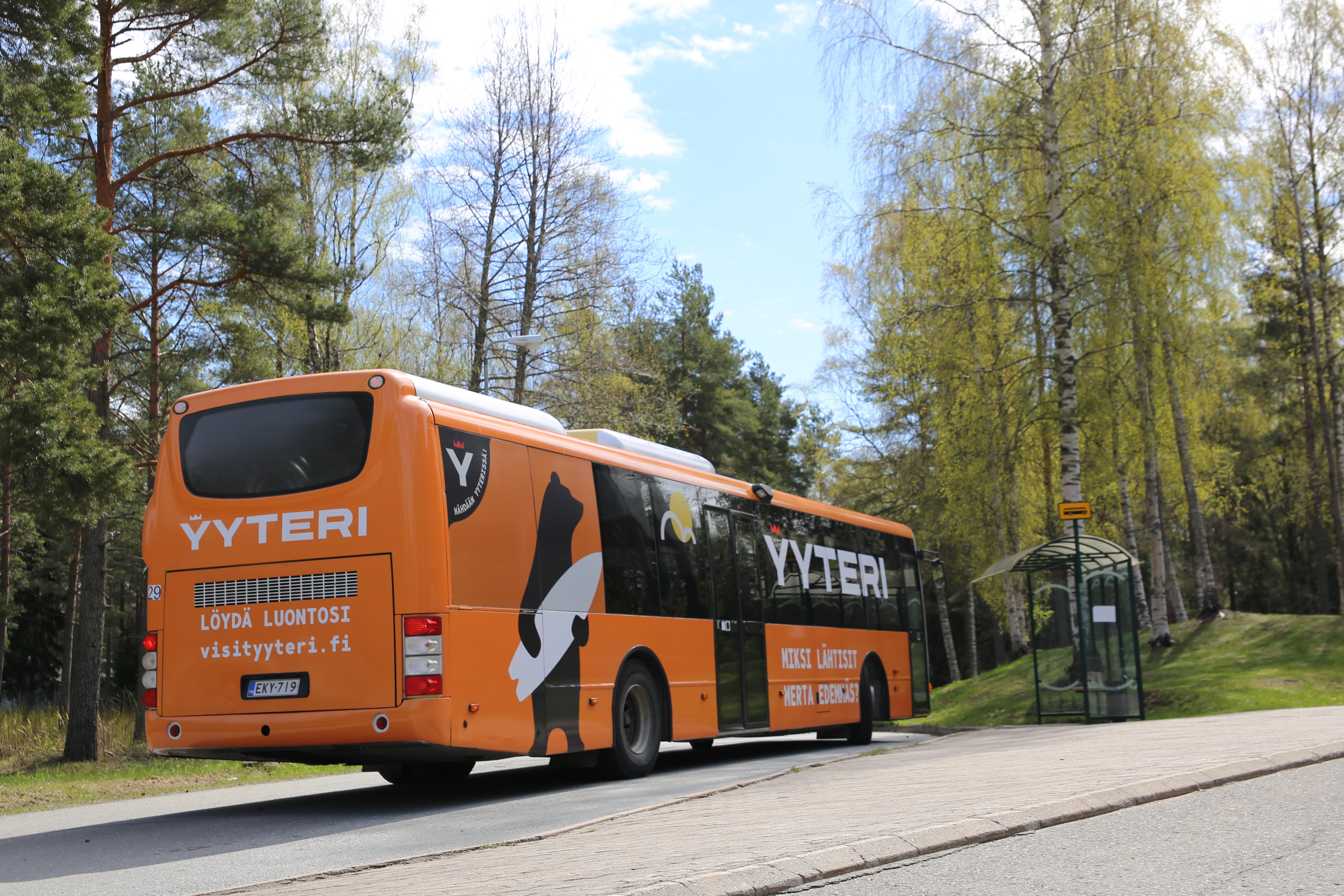 Bussilla pikapikaa Yyteriin